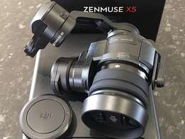 Brand new dji Zenmuse x5 camera and 3 -axis gimbal. ( lens included )
