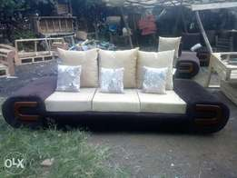 Five seater D arm