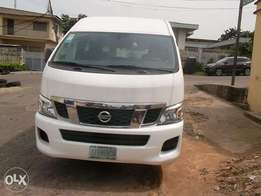 Nissan nv35000 bus white color