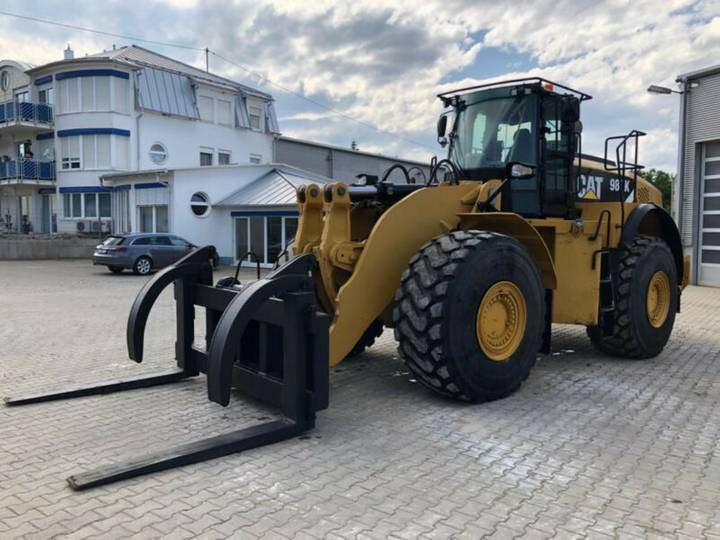 Caterpillar 980K with Forks - 2012