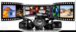 Professional video shooting, coverage and editing