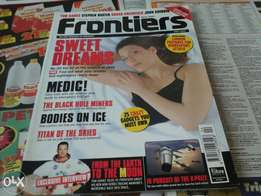 Awesum collectable, pre 2000, scientific,Frontiers magazine, highly co