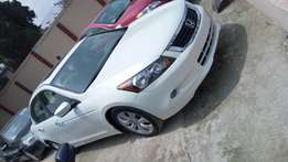 Honda Accord EvilSprit White Colour Very Clean Tokunbo Perfectly Drive