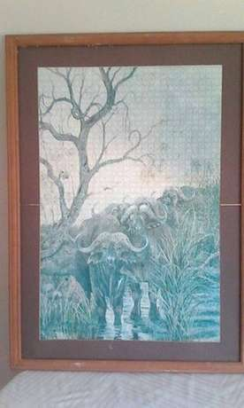 Wooden framed puzzles for sale. Richards Bay - image 1