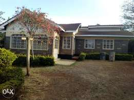 4 bedroomed bungalow to let in ngong