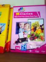 Clarion photopaper