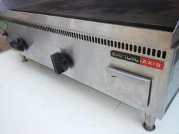 ANVIL - Double Flat top Griller - Gas