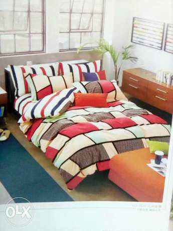 Warm cotton duvets with one matching bedsheet and 2 pillowcases Kitengela - image 7