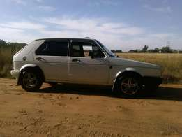 Hi there I'm selling my mk1 golf still in a good condition