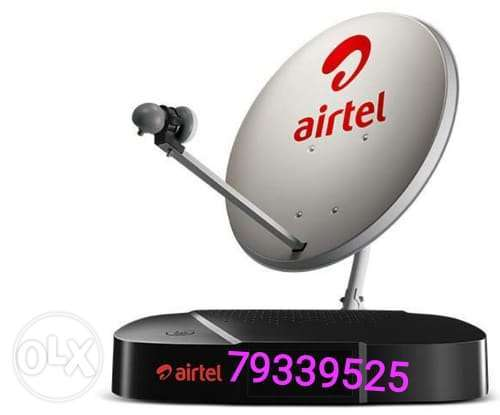 New air tel hd receiver with subscription six month malyalam Tamil //