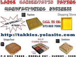 Concrete Product Manufacturing Business for Sale R3500