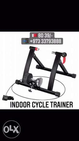 Black Colour inside home Trainer for bikes - new stock available