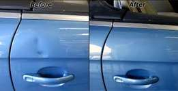 Small dent repair, panel beating & spray painting of all vehicles.