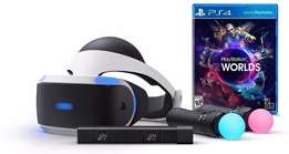 PlayStation VR Bundle including Camera and 2 Joy pads
