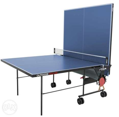 Stiga out door ping pong+gift