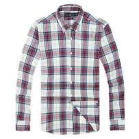 Polo Ralph Lauren Plaid Cotton Checkered Long Sleeve Oxford Shirt - 01