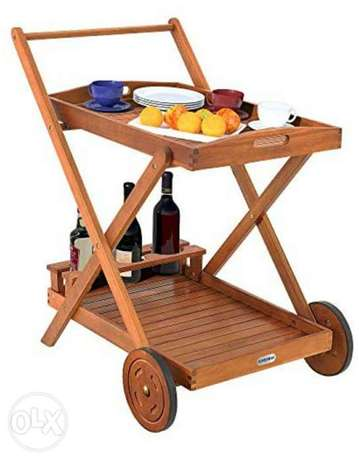 Acacia wood Removable tray 3 bottle holders Kitchen tro