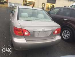 Extremely Clean Toyota Corolla 04,Tokunbo