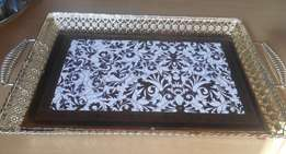 New tray for tea or coffee