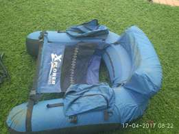 Float tube and neoprene wader, used for sale  Magalieskruin