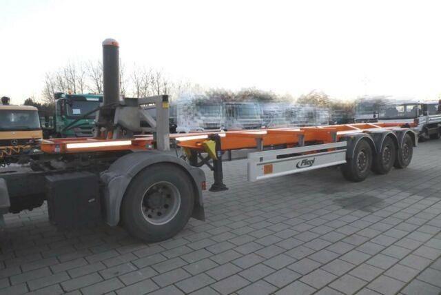 Fliegl Containerauflieger SDS 380 Containerauflieger - 2014