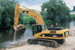Machinery training operators mobile crane excavators dump trucks