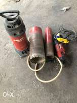 coring machine with full set bit all size and water pump