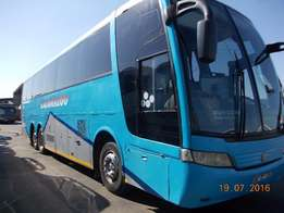 Neat blue bus for sale