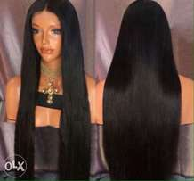 straight 30inches wig