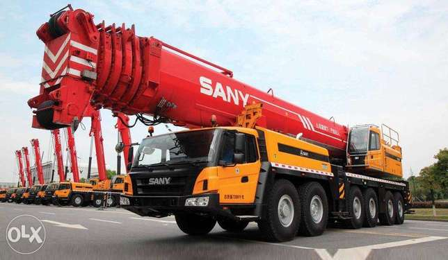 Cranes from 25 to 220 ton, traillers, graders and rollers r Avaiabl