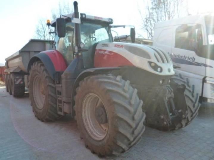 Steyr 6300 terrus cvt - 2017