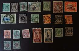 Antique stamp collection, Very rare stamps