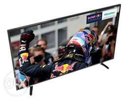 HISENSE 43 INCH,SMART WIFI 4K brand new and sealed in a shop