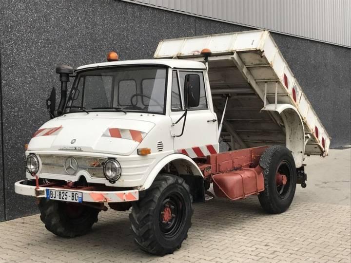 Mercedes-Benz Unimog 421 TTM421 Kipper Nette staat !! Snelle assen - 1972