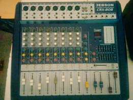 Jebson CRX - 808 8 channel powered mixer R3500