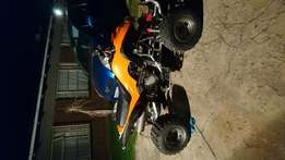 No limit quad 250cc redone
