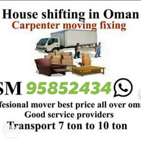Moving/ house / shifting/transport