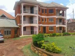 A two bedroom apartment for rent in kyanja