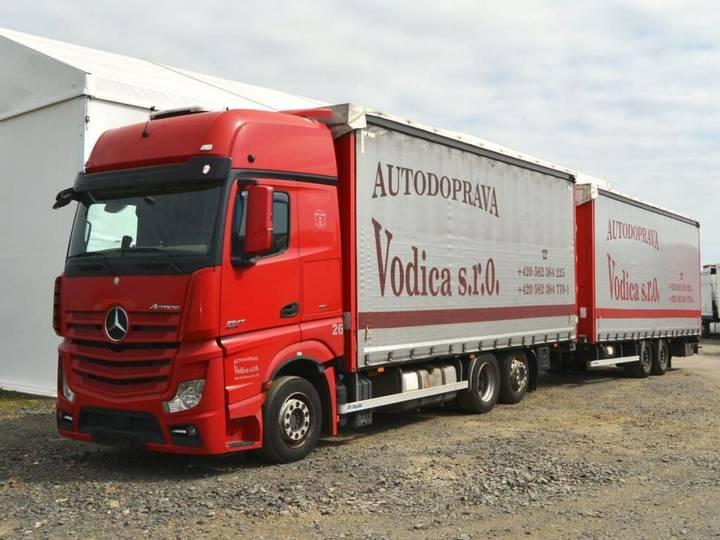 Mercedes-Benz Actros 2545 + Trailer Euro5 - 2019