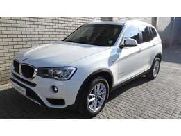 2014 BMW X3 2.0L Steptronic with sunroof