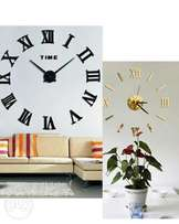 Wall clock home decoration