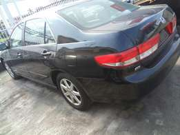 Honda accord 2005 model full option automatic transmission Ac leather