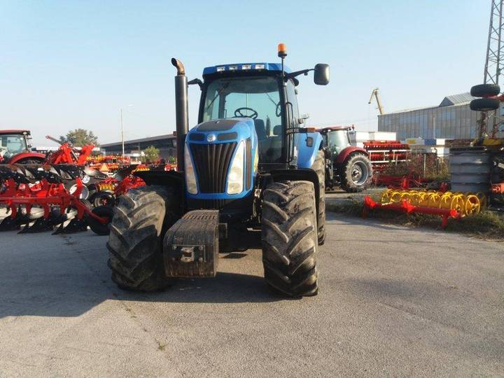 New Holland T8020 - 2009