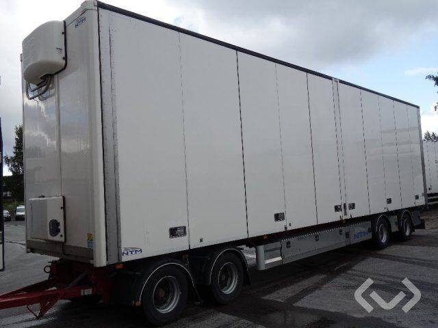 NTM UTPL-4 4-axlar Box Trailer (side doors) - 18 - 2019