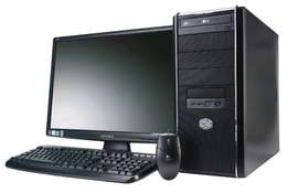 Demo i5 Desktop + 19'' LCD monitor + keyboard and mouse