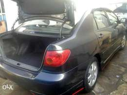 Tokunbo Toyota corolla 2003 sport lagos cleared