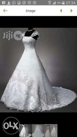 Imported Sexy Ball Gown Wedding Dress For Rent
