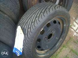 single and spare rims and tyres (read list)