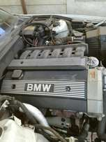 Bmw 525i motor nd gearbox etc