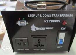 Step Up/Down Voltage Transformer Converter - AC 110/220 V - 2000 Watt